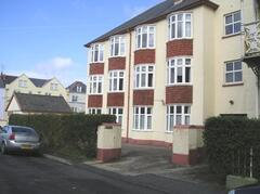 Just across the road from the bowling green and only a short distance to the sea front.