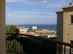 Balcony view of La Cala