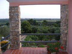vista from terrace