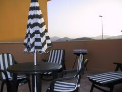 Terrace & Mountain View