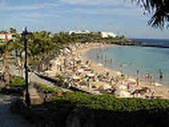 Playa Dorada Beach close to Apartments Marcastell, Playa Blanca, Lanzarote