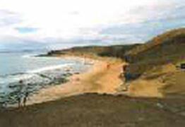 Playas Papagayos National Bioshere, close to Playa Blanca, Lanzarote