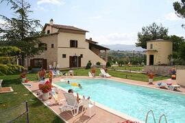 Property Photo: a scenic and beautiful country house on the hills of Umbria..enjoy the beauty!