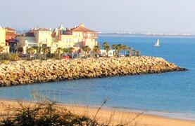 Property Photo: View of the beach at Puerto sherry
