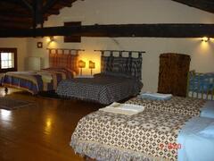 the quadruple bed-room