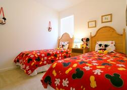 Property Photo: Mickey Mouse twin