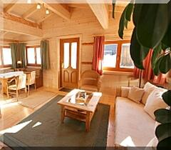 one chalet inside