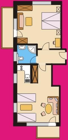 one appartement