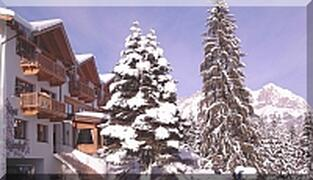 The Gardenhotel Rosenhof in Winter