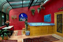 Property Photo: Private 8 person hot tub