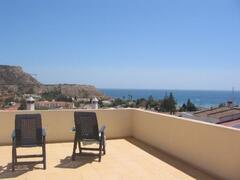 Roof terrace and stunning views