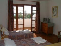 view to spacious balcony