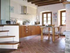 The kitchen/living