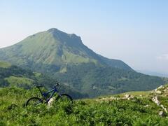 Mountain biking in Pascoso