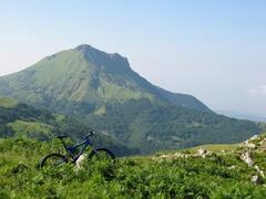 Mountain biking in the surroundings