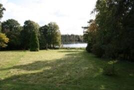 Property Photo: Lake at Bottom of Garden