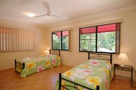 Second bedroom can sleep 4 (2 singles & 2 trundles)