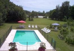 Property Photo: Pool to lake