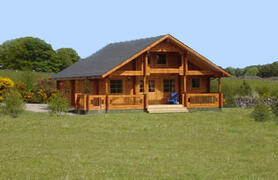 Property Photo: mountain lodge